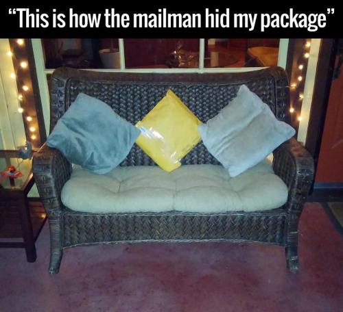 What package? - meme