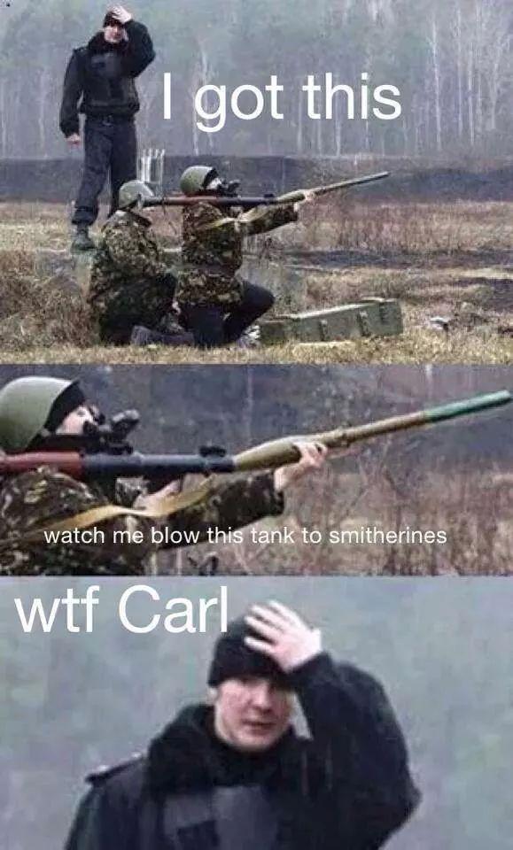 L'armée Russe, c'est pas encore ça ... - meme