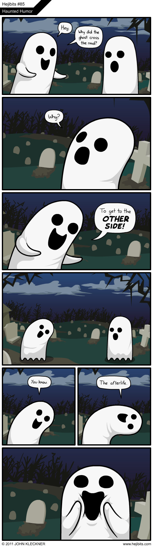Ghost jokes... - meme