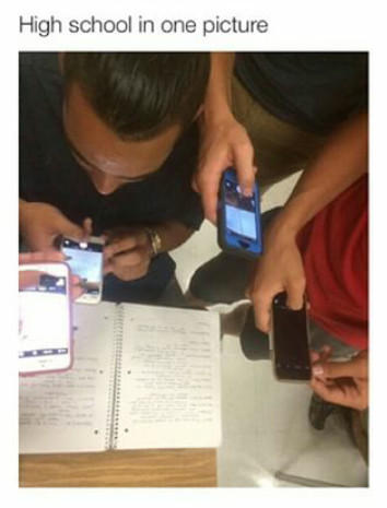 High school.... - meme