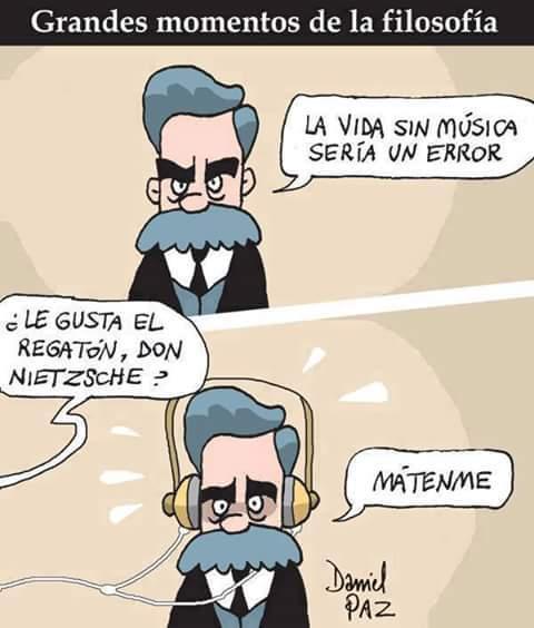 pobre Nietzsche - meme