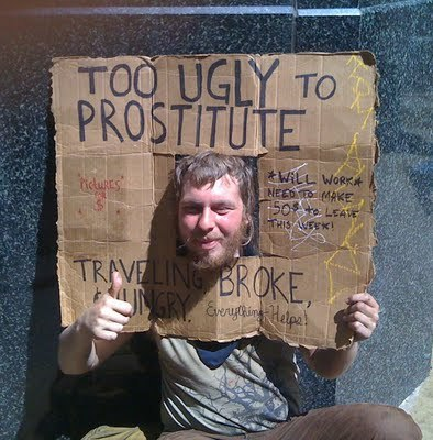 Smart homeless people - meme