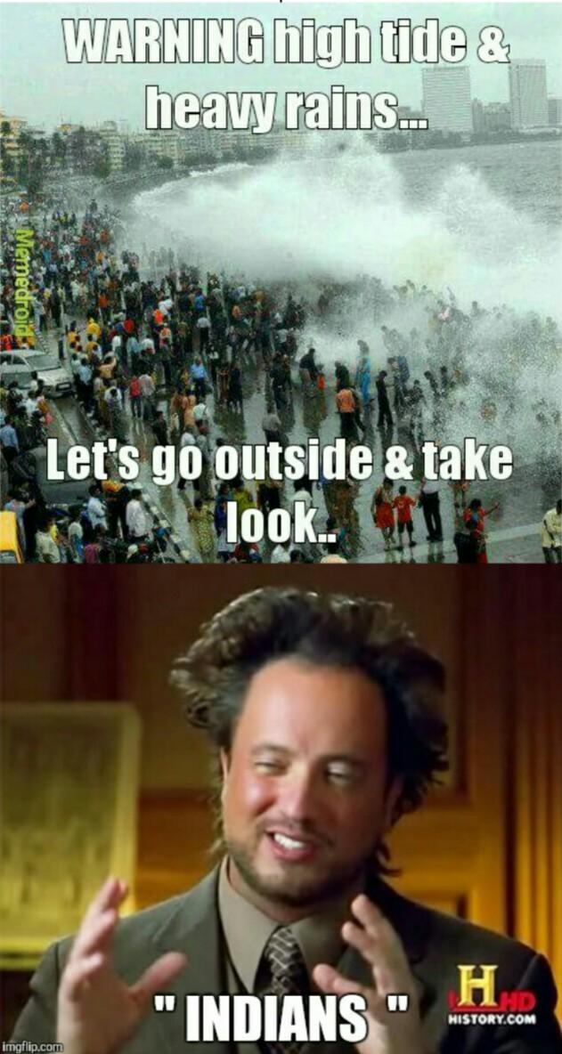Mumbai rains.. - meme