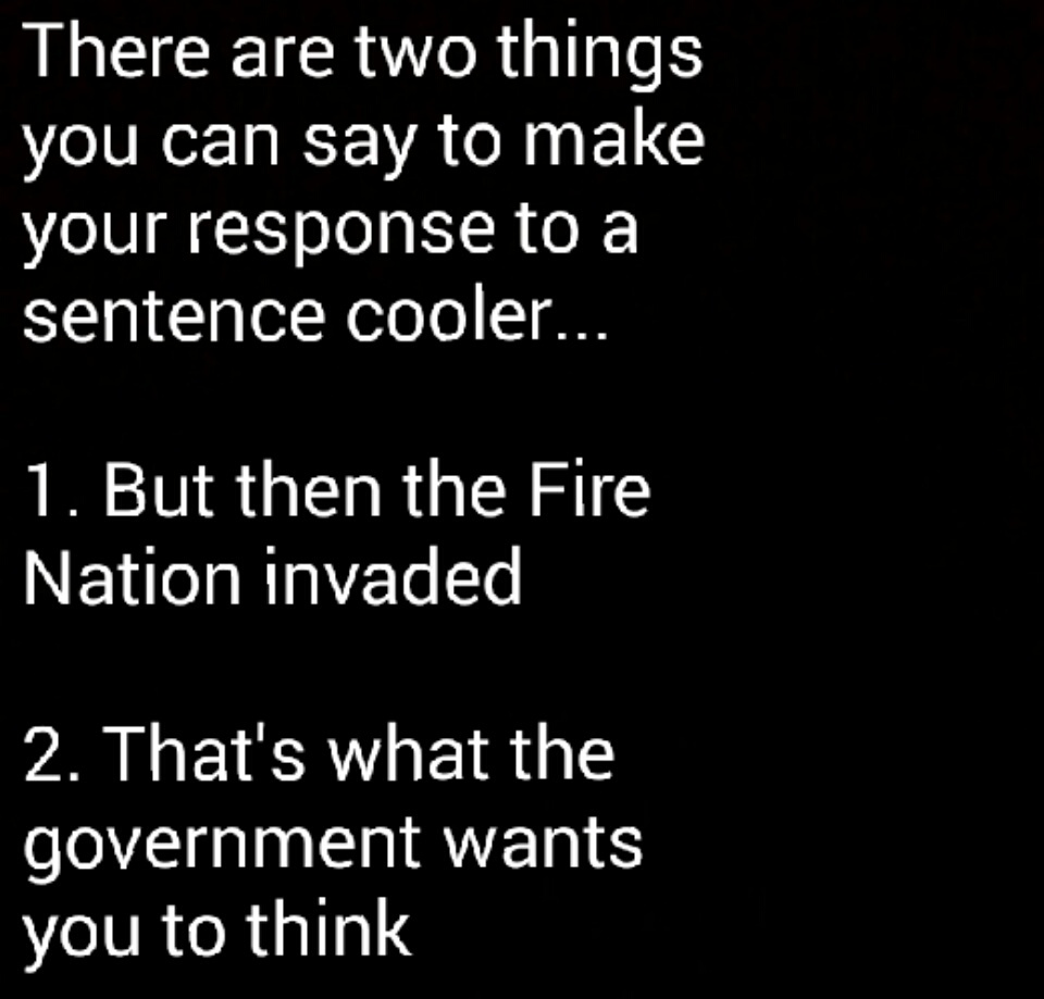 FIRE NATION - meme