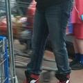 Wtf Nike high heels