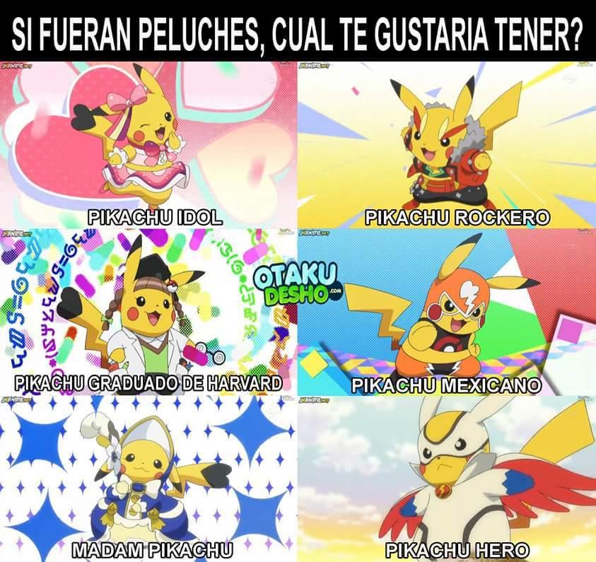 Pikachu idol - meme