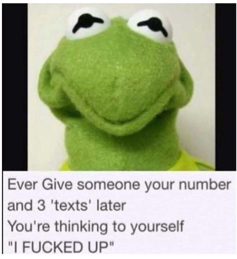 Don't give your number to fourth commenter....they're total a raper. - meme