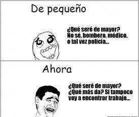 España :,( - meme
