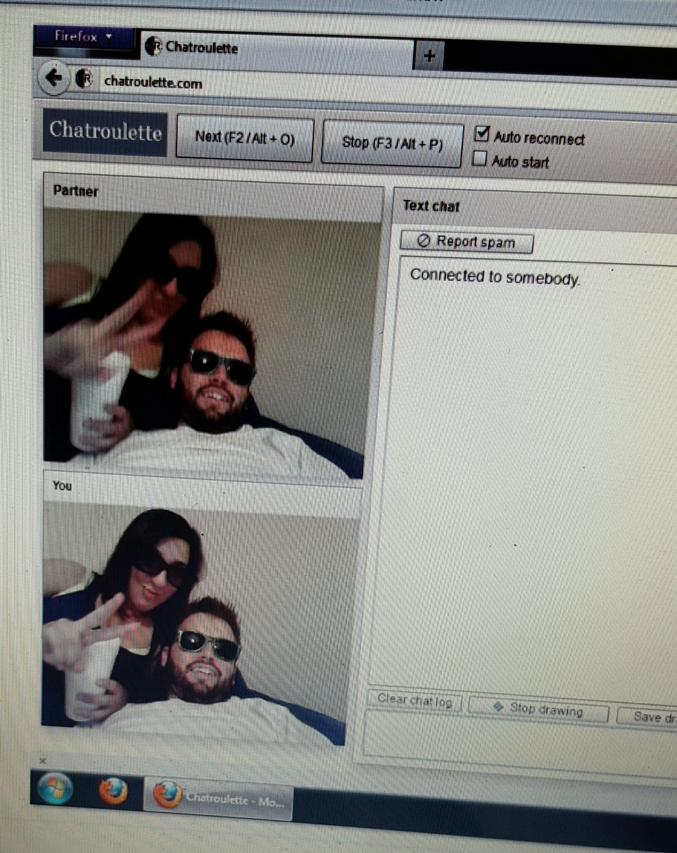 That time u find urself on chat roulette - meme