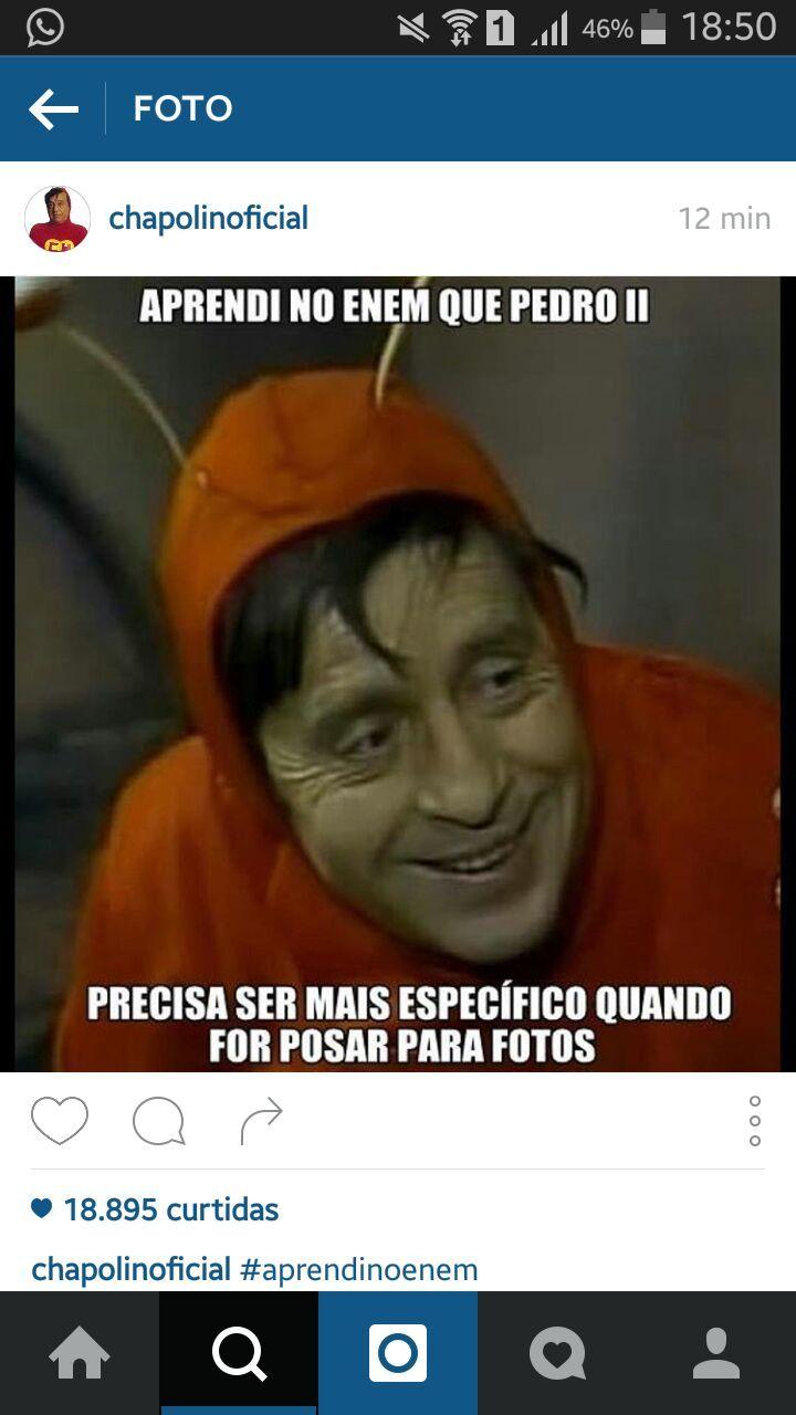 Bem isso #enem - meme