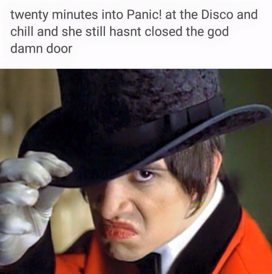Haven't you people ever heard of closing the god damn door - meme