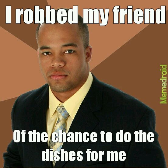 Nice black guy - meme
