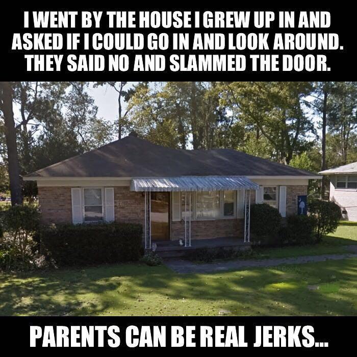 Damned parents - meme