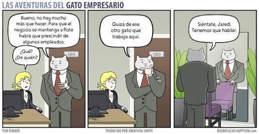 Gato de negocios - meme