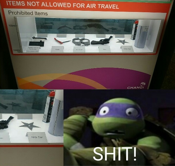 I saw this at the Singapore airport - meme