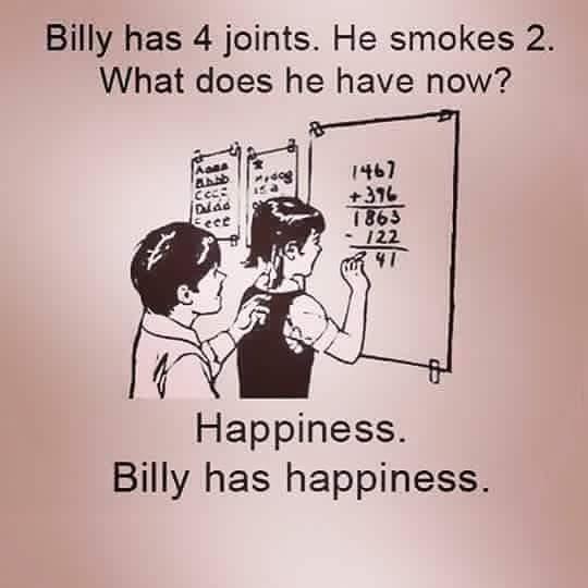 be like billy! be happy - meme