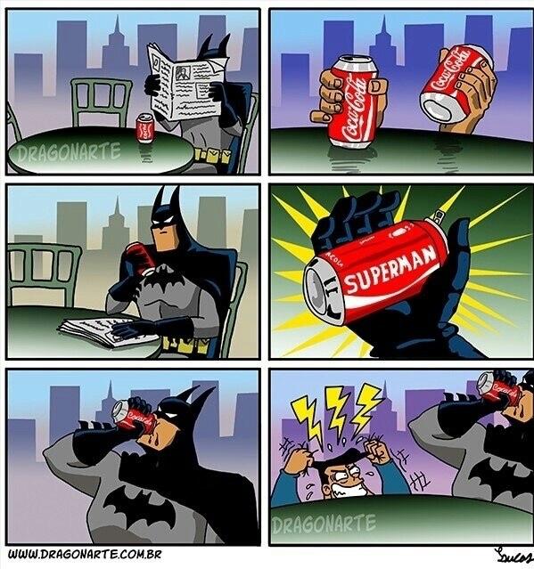 batman vs superman :v - meme