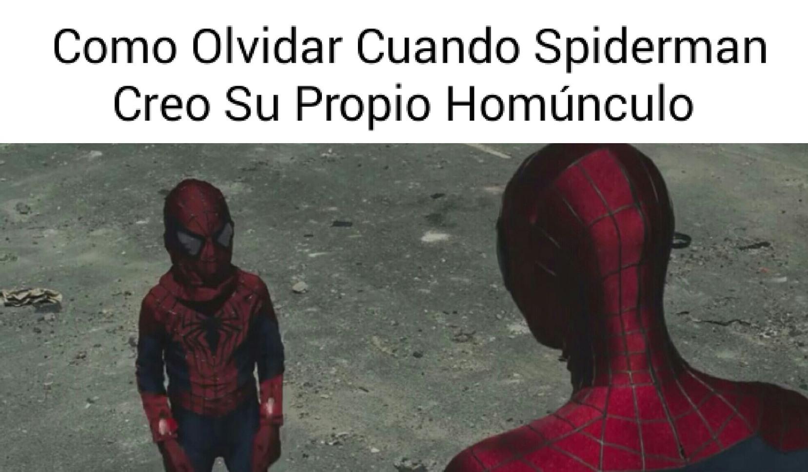 Ese Spidey Es Un Loquillo - meme