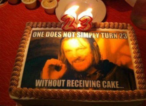 I like cake - meme