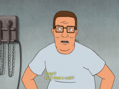Hank hill is my spirit animal - meme