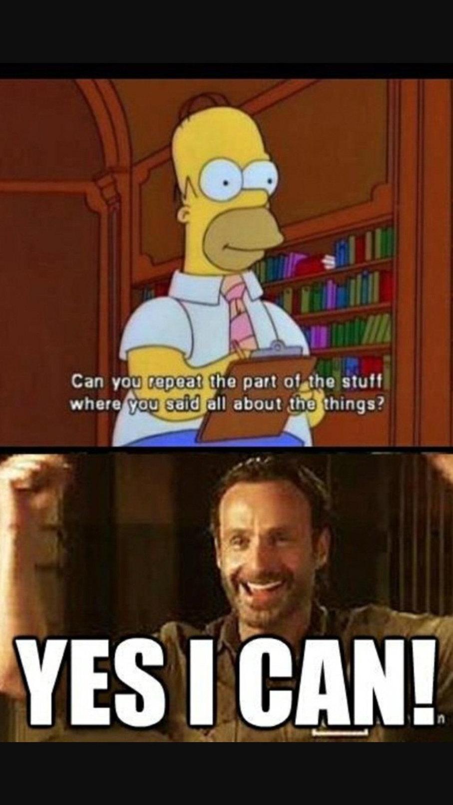 Oh Rick... - meme