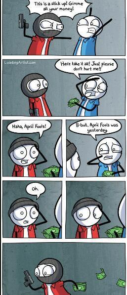 April fools ( ͡° ͜ʖ ͡°) - meme
