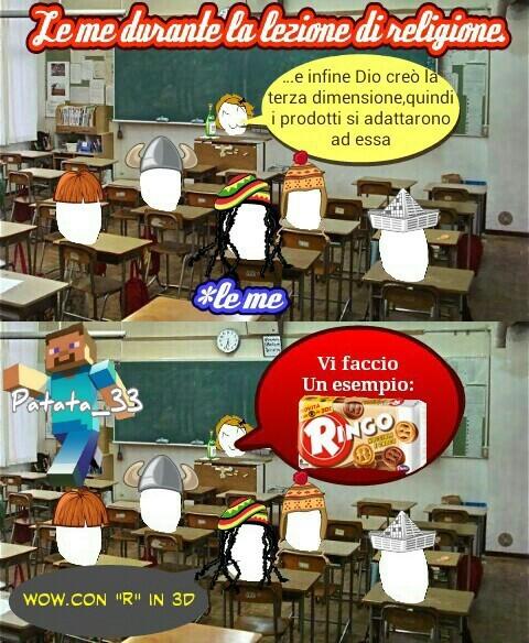 La creazione - meme