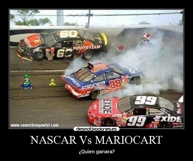 Perdón que diga Mariocart es que la saque de google :D - meme
