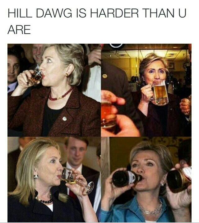 Ya girl Hill dawg - meme