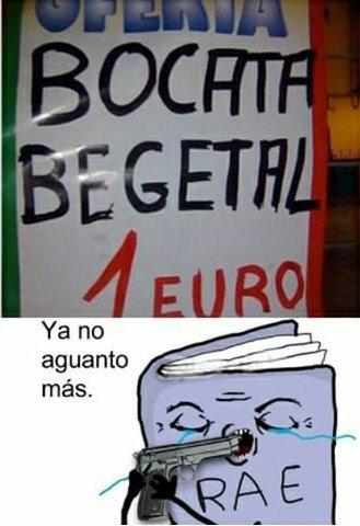 Bocata...begetal XD - meme
