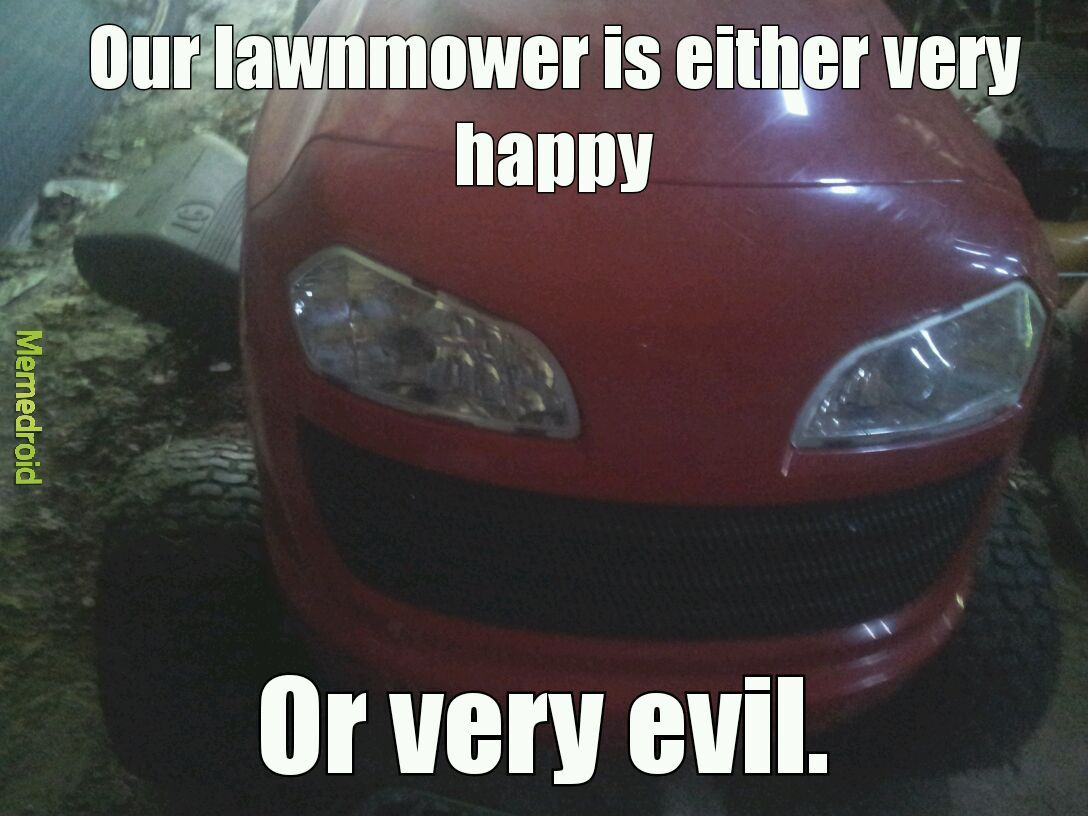 EVIIIIIIL! (Also. 3rd comment isn't happy) - meme