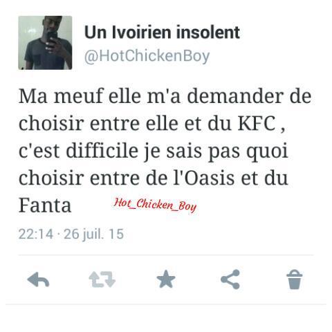 le KFC c'est sacré - meme