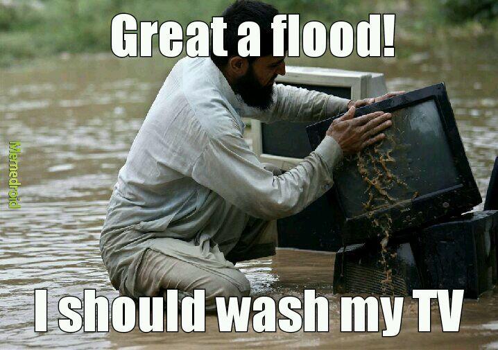How to flood - meme