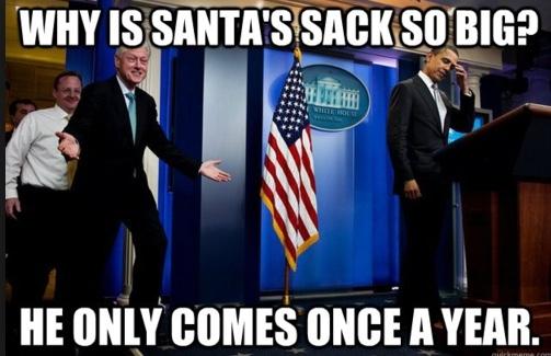 horny santa - meme