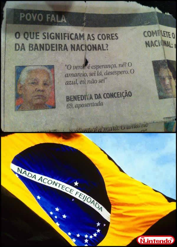 Esse é o povo brasileiro ♡ - meme