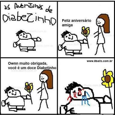 #3 Diabetinho - meme