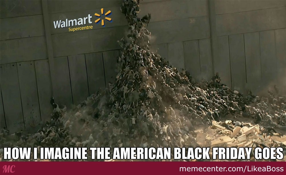 Black Friday is coming - meme