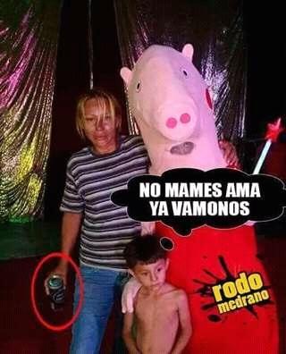 Laura bozzo y peppa pig - meme