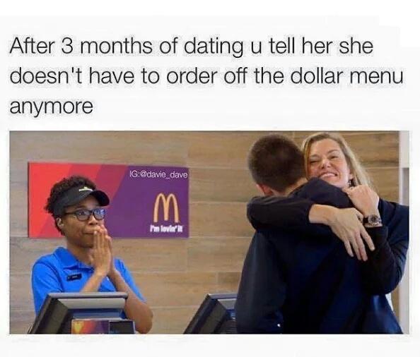 Dollar Menu - meme