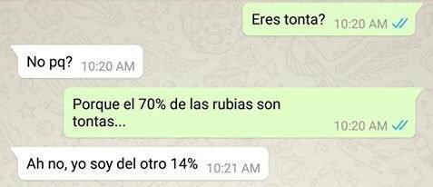 rubias... - meme