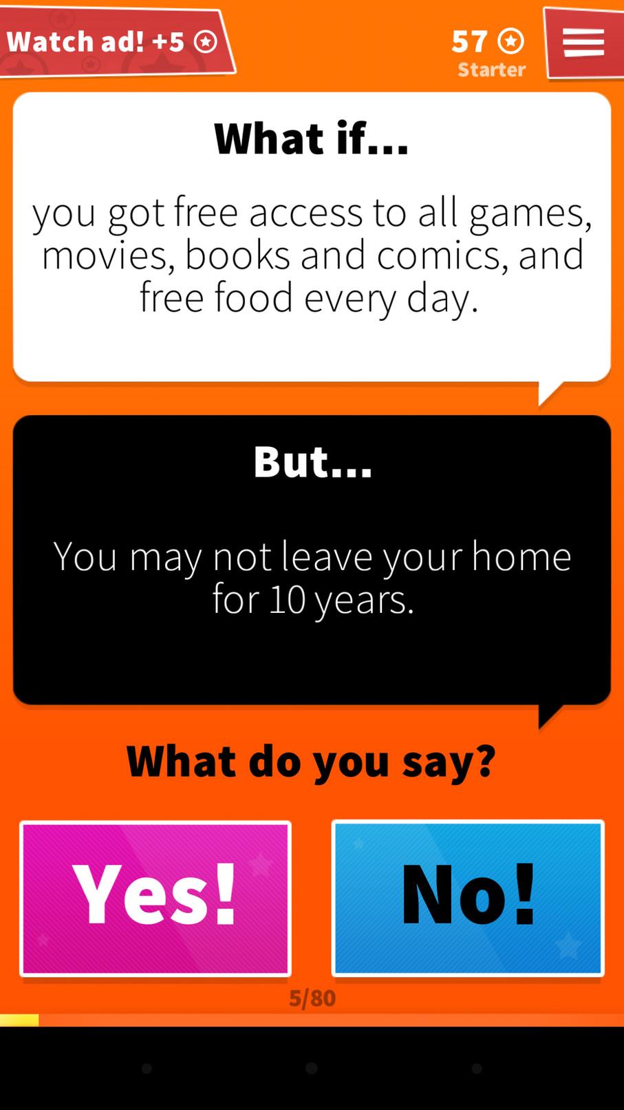 App: What if - meme