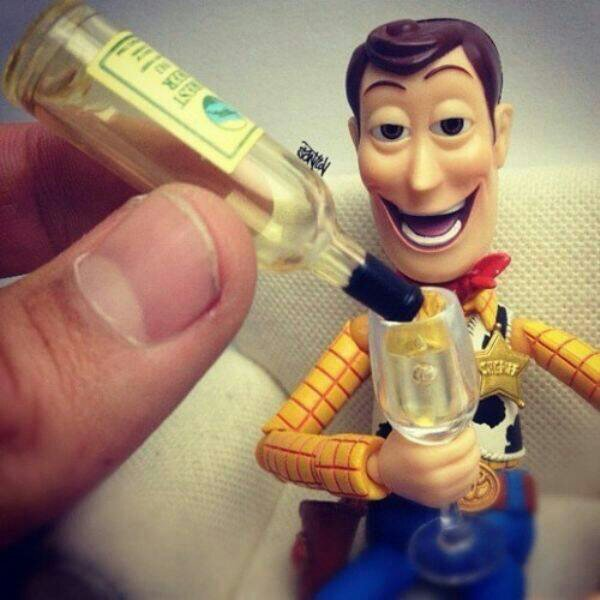 So... Woody got wasted - meme