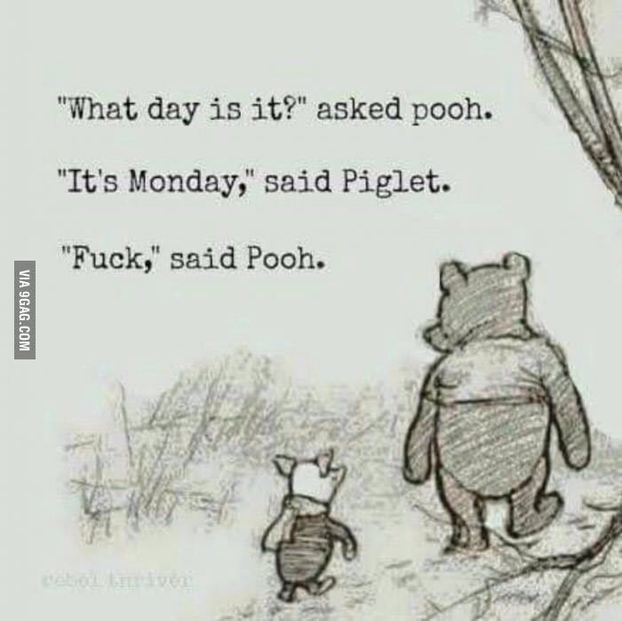 Pooh rules - meme