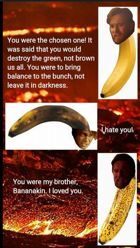 Bananakin ! - meme