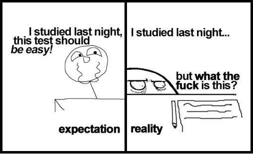 Exams - meme