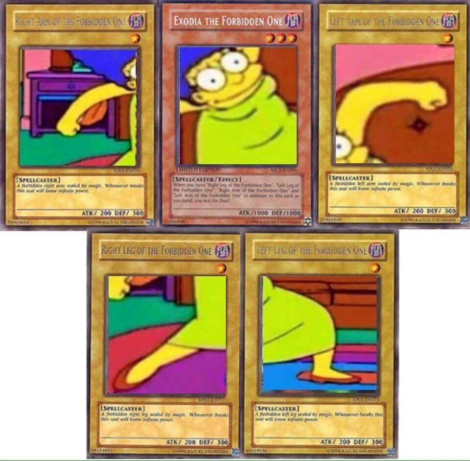Marge the forbidden one - meme
