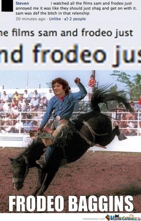 Frodeo Baggins... - meme