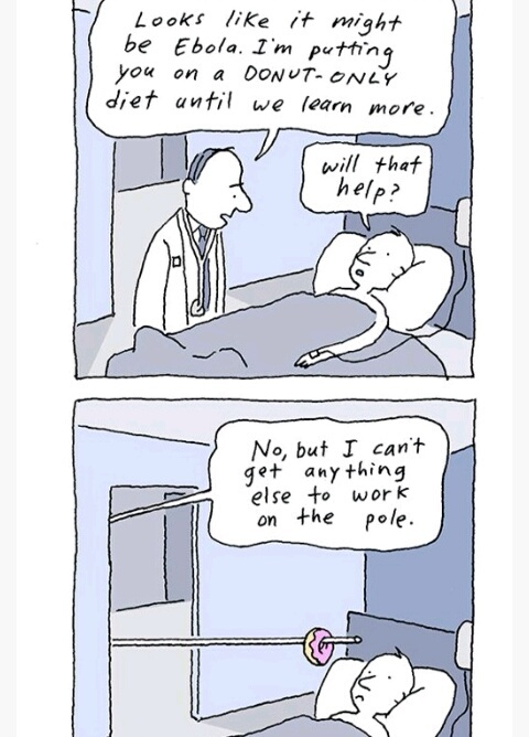 Ebola making crazy - meme