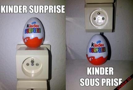 Kinder... - meme