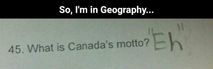 Canada eh? - meme